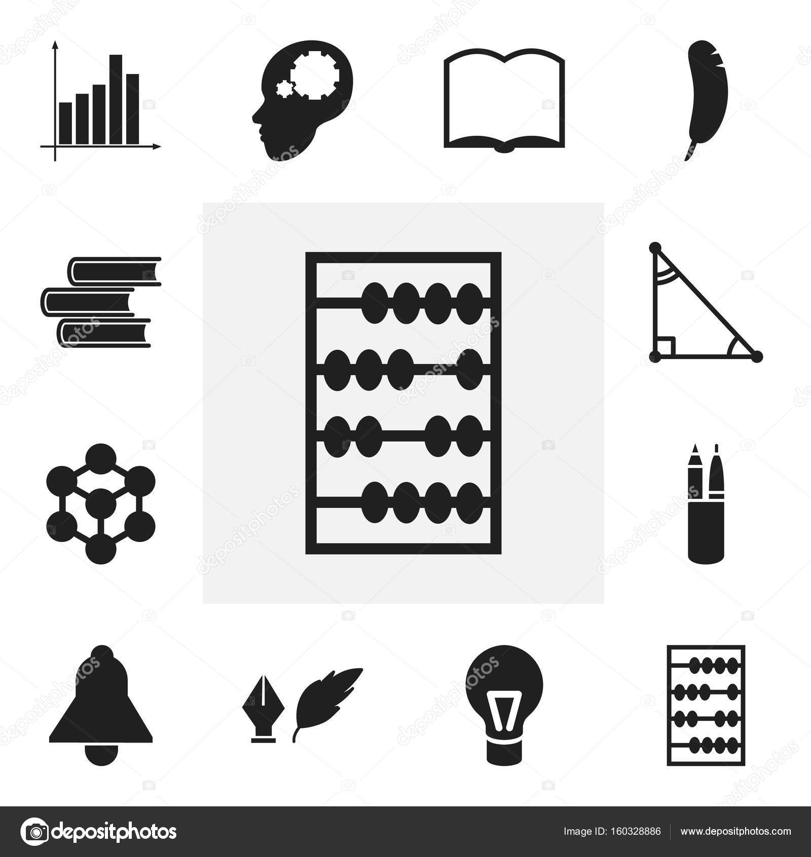 Set Of 12 Editable Science Icons Includes Symbols Such As Triangle
