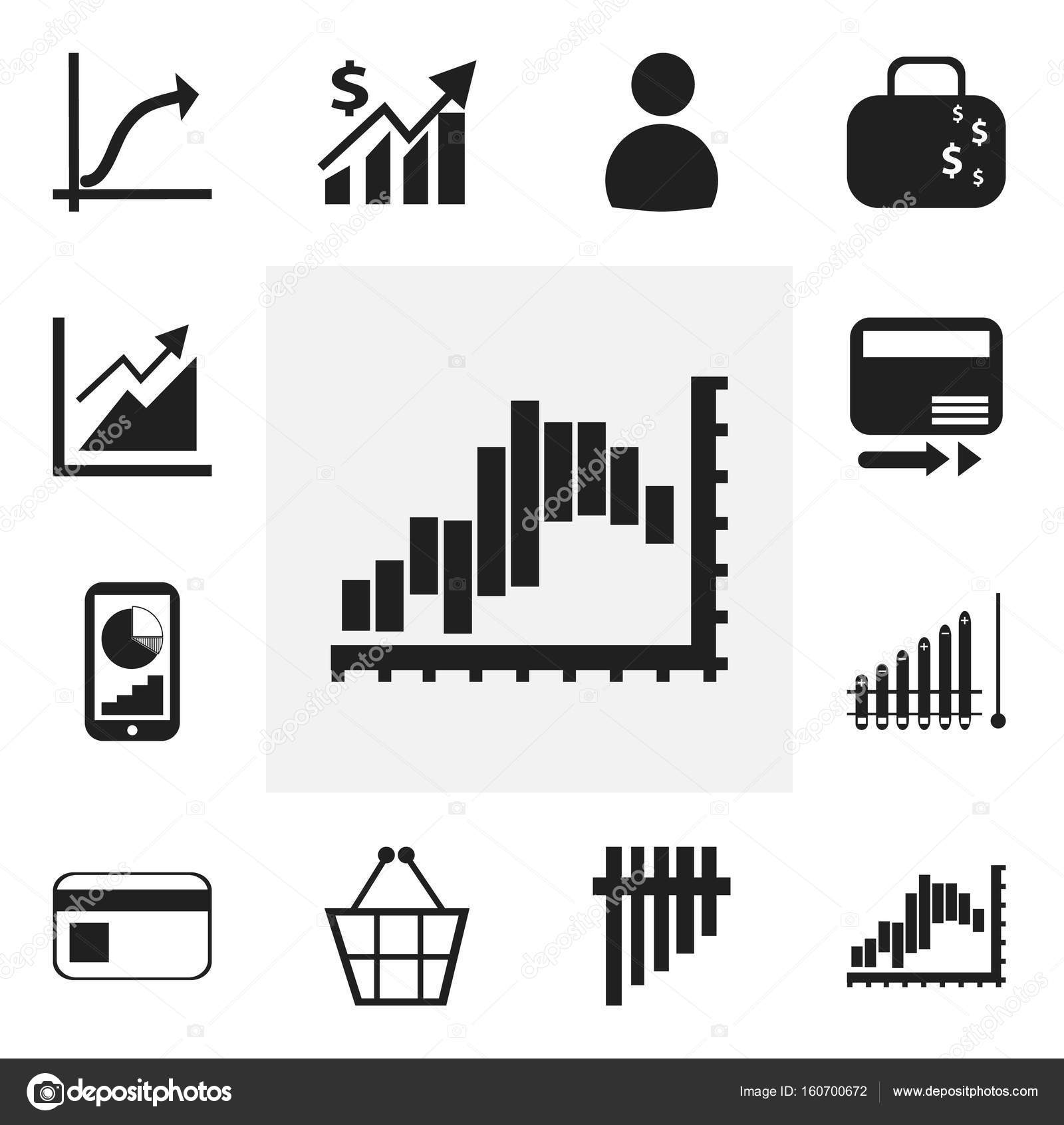 Set Of 12 Editable Analytics Icons Includes Symbols Such As Pay
