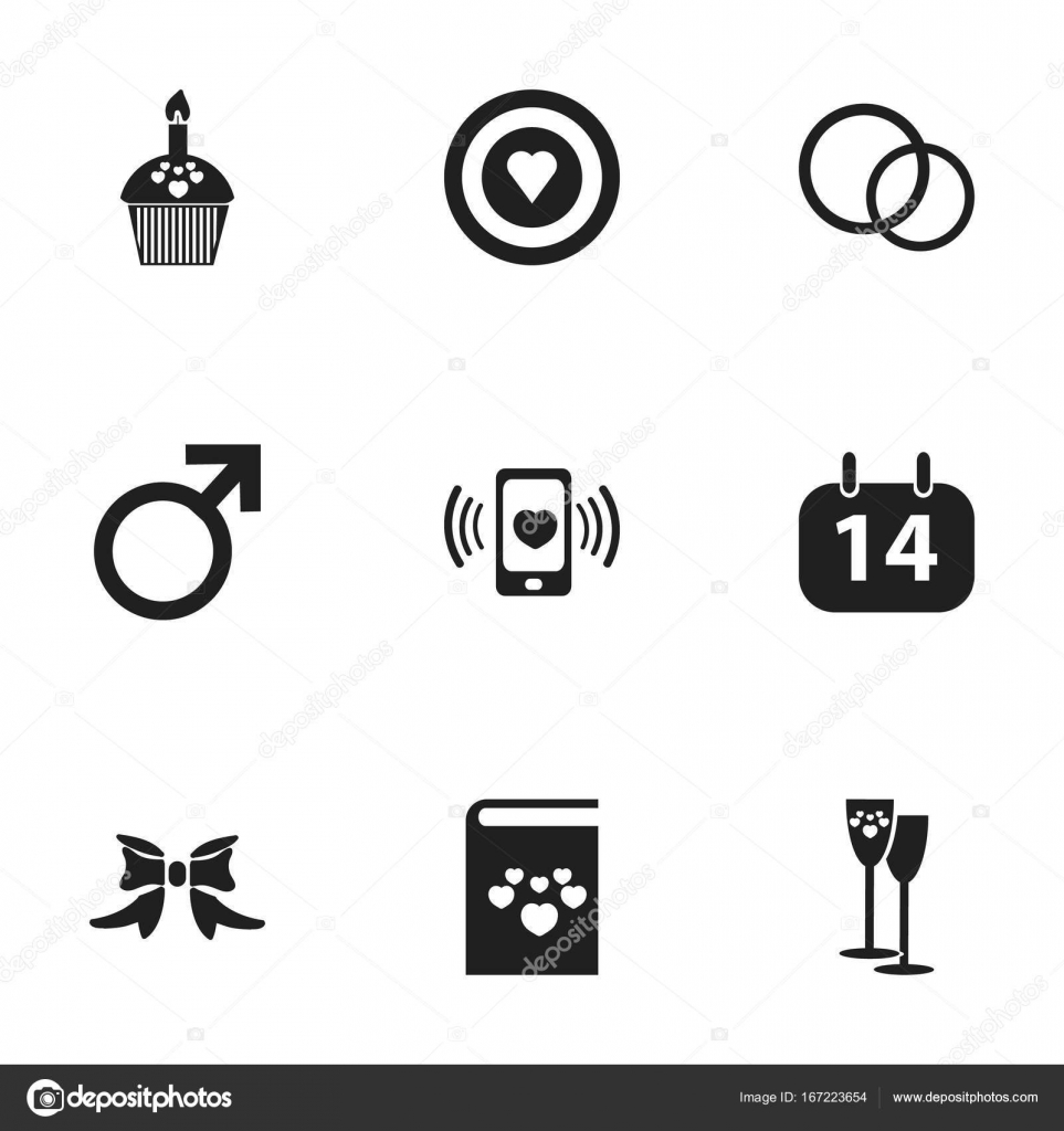 Set of 9 editable love icons includes symbols such as butterfly includes symbols such as butterfly male sign biocorpaavc Image collections