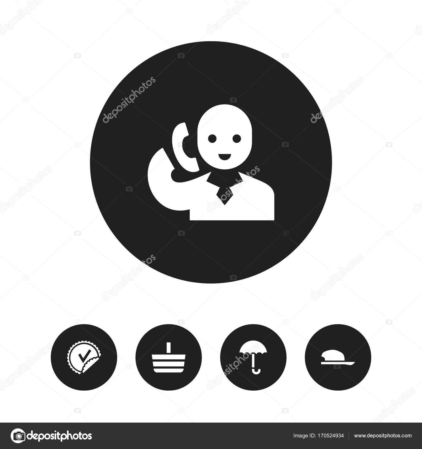 Set von 5 editierbare Shopping Icons. Enthält Symbole wie ...