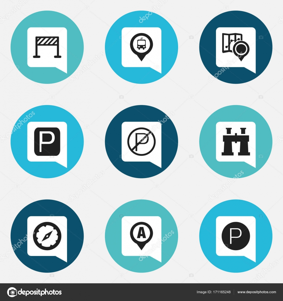 Car Direction Symbols Clipart Library