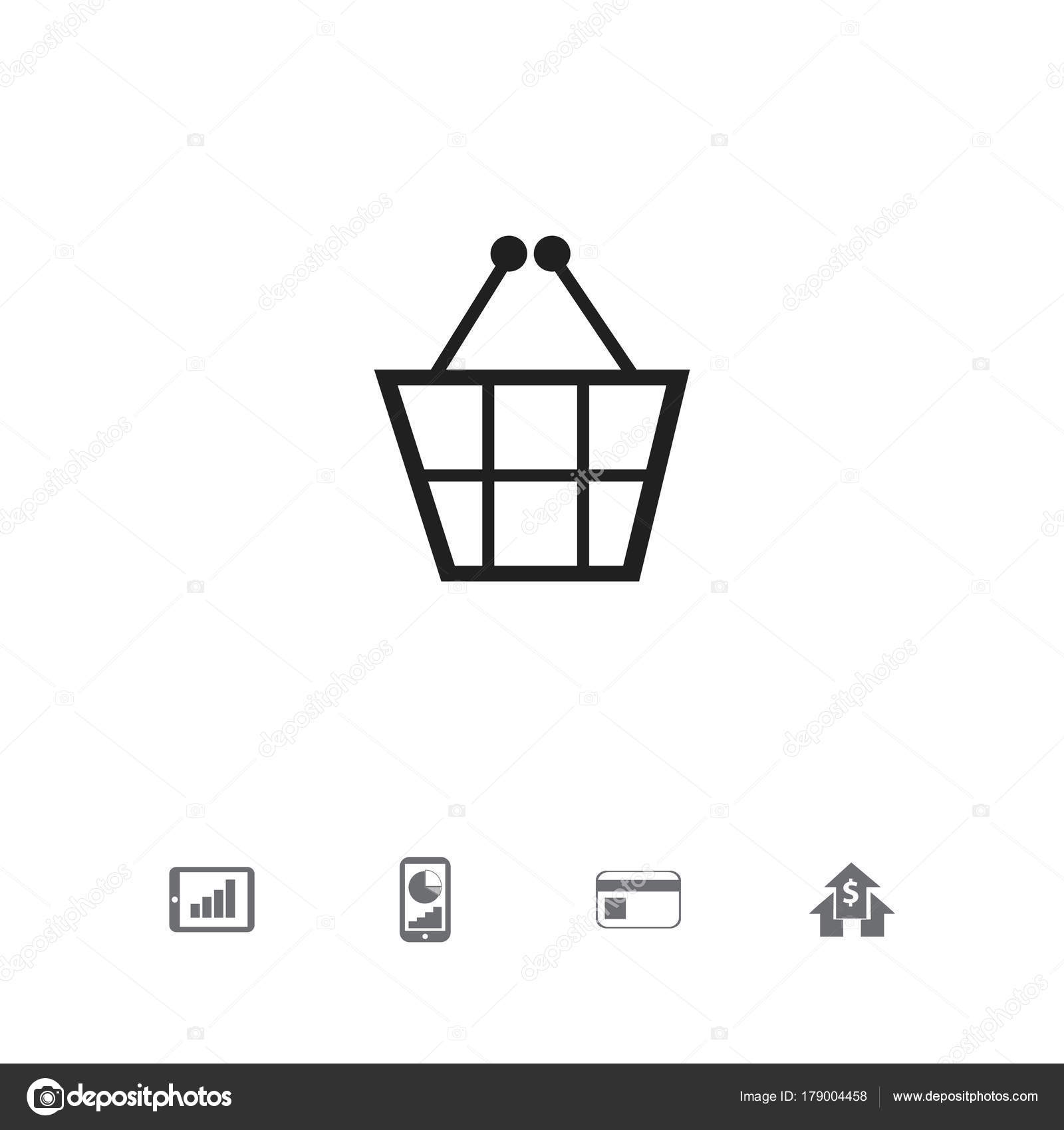 Set Of 5 Editable Statistic Icons Includes Symbols Such As Banking