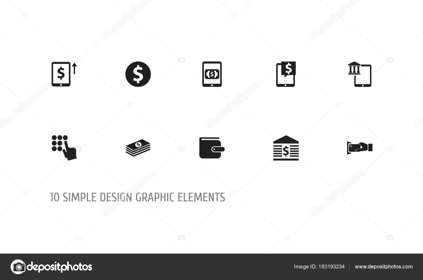 Set Of 10 Editable Investment Icons Includes Symbols Such As