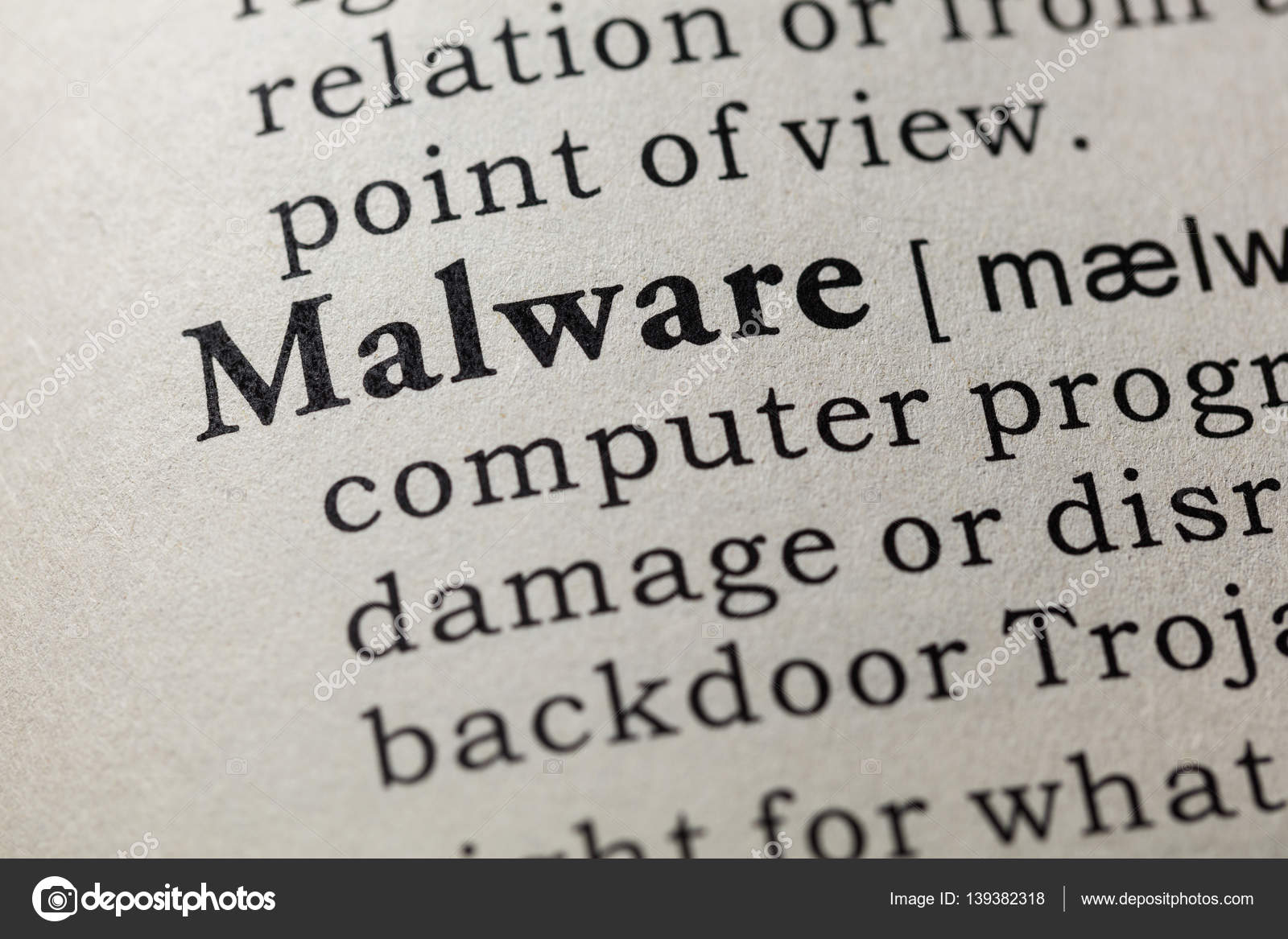definition of malware — stock photo © devon #139382318