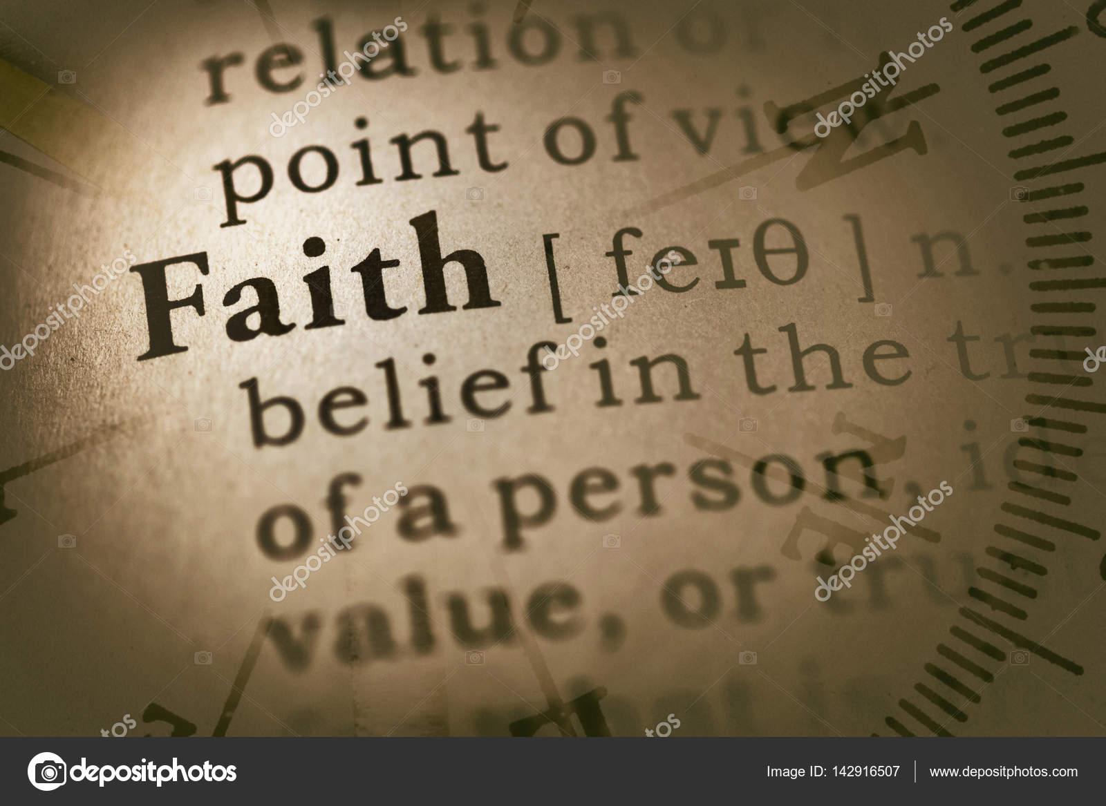 La Credenza Definizione : Bussola e parola fede u foto stock devon