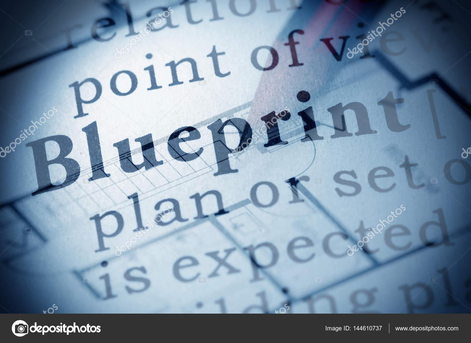 Definition of blueprint stock photo devon 144610737 definition of blueprint stock photo malvernweather Gallery