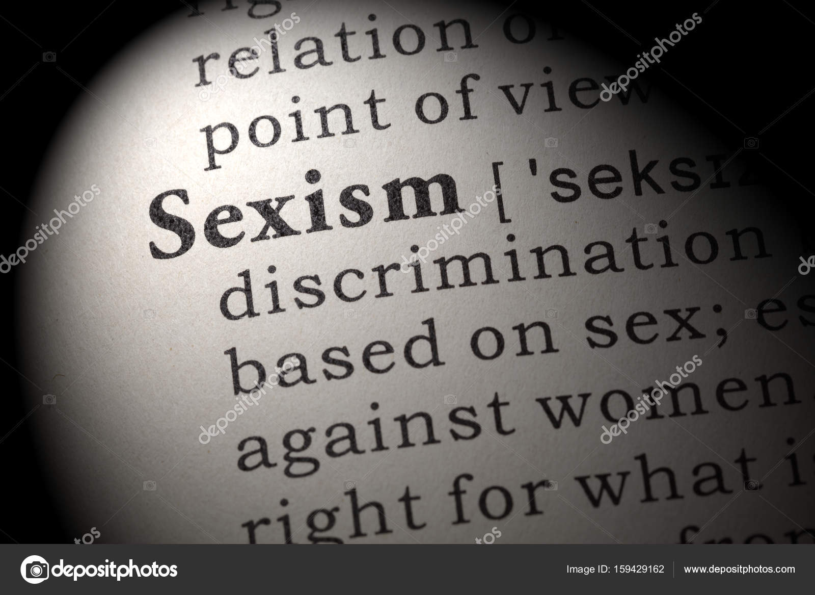 the definition of sexism