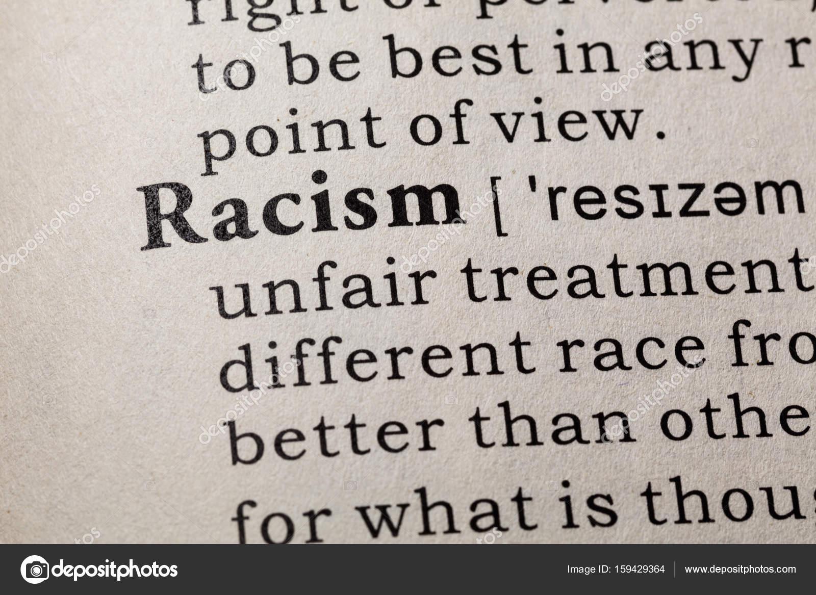 definition of racism — stock photo © devon #159429364