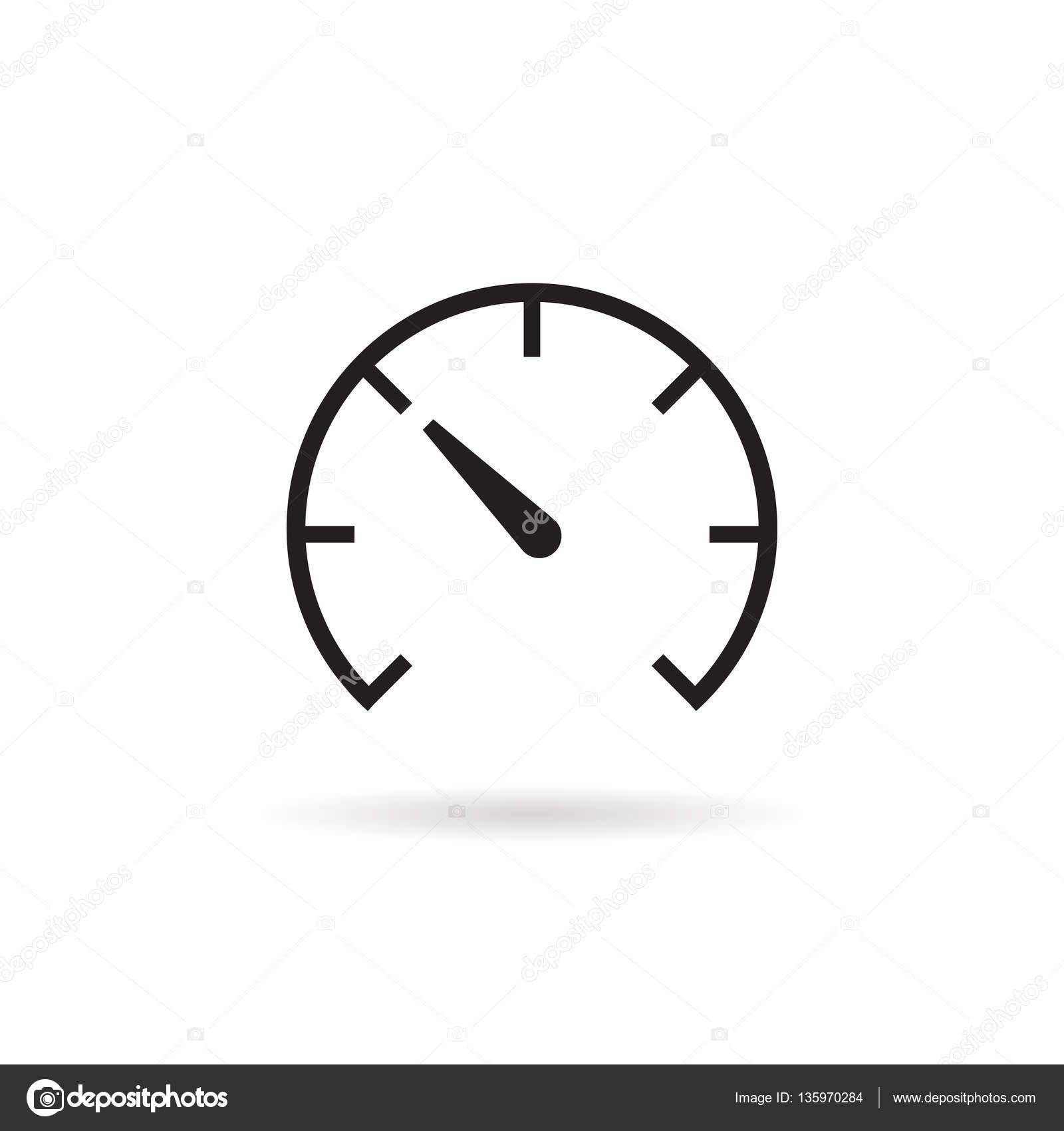 speed meter vector ,symbol — Stock Vector © meenstockphoto@gmail.com ...