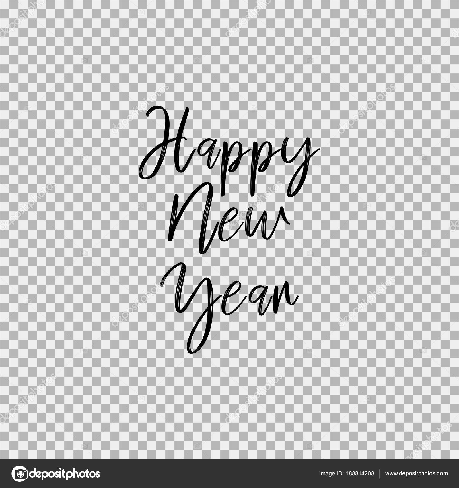 Happy New Year Transparent Background 14
