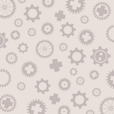 background consisting of gears. the concept of motion. vector te