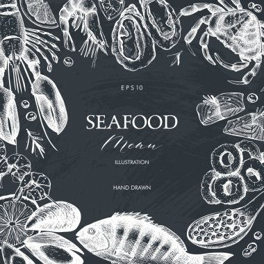 Seamless Seafood Menu