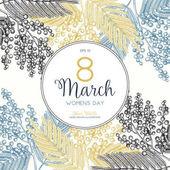 Fényképek Női nap-üdvözlőlap vagy meghívó tervező