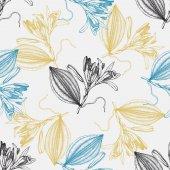 Fotografie Vanilla sketch pattern