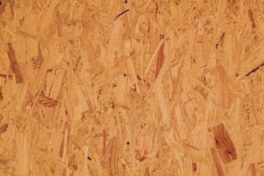 Background of wood chipboard yellow