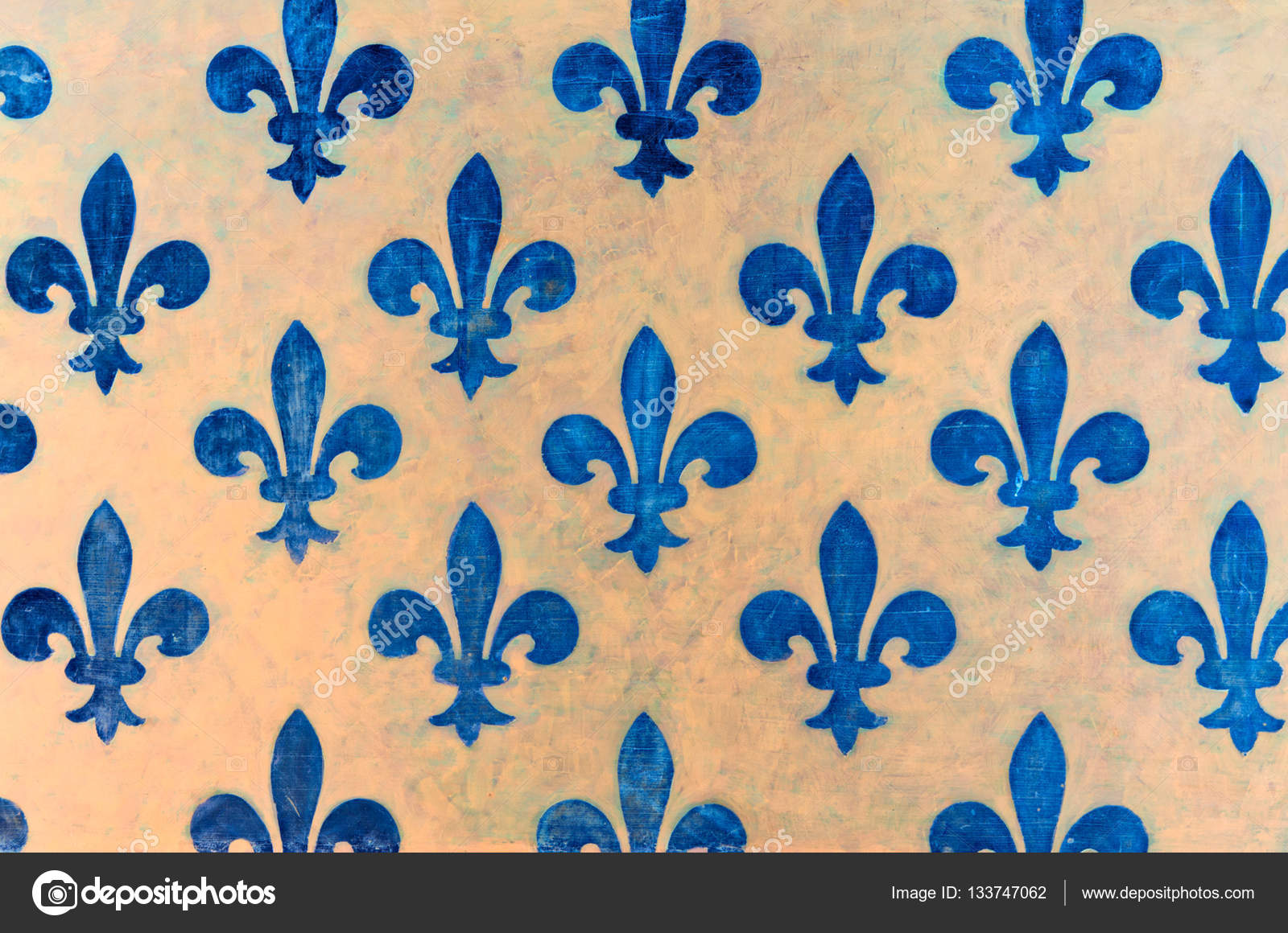 blue fleur de lis wallpaper fleur de lis stock photo. Black Bedroom Furniture Sets. Home Design Ideas