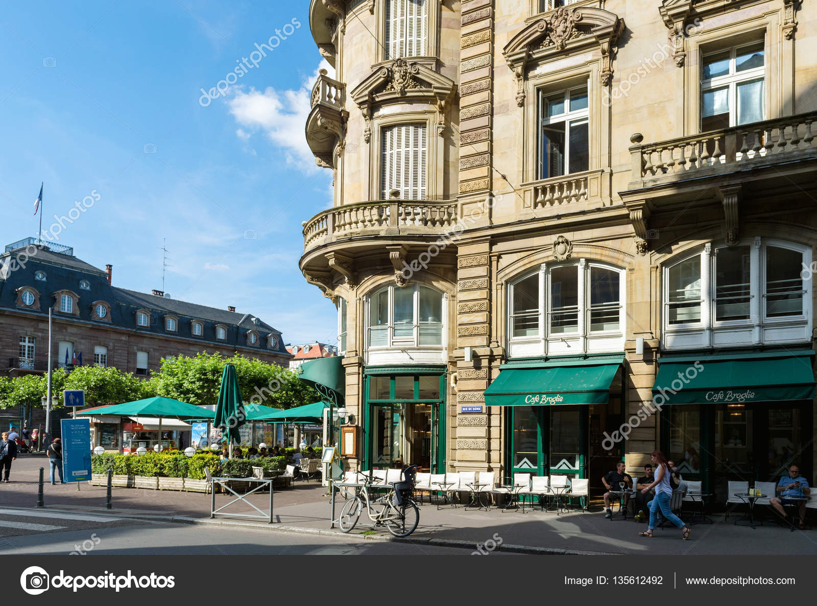 Café Broglie Jahrgang in Straßburg französische Küche ...