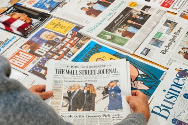 The Wall Street Journal and Trump Obama families