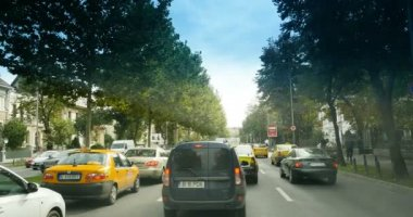 traffic jam in Bucharest