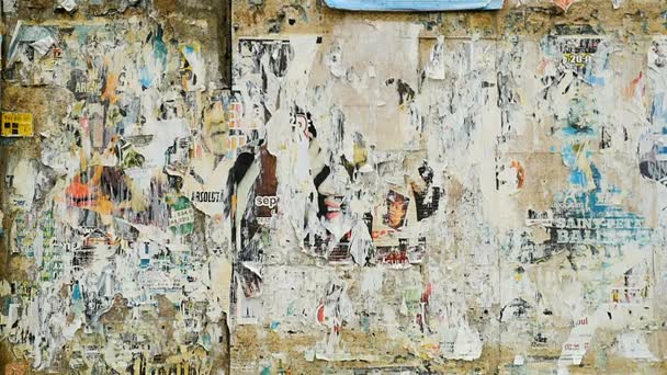 Grunge régi városi utcai billboard