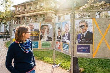 Francois Fillon French Presidential Electoral Campaign Posters v