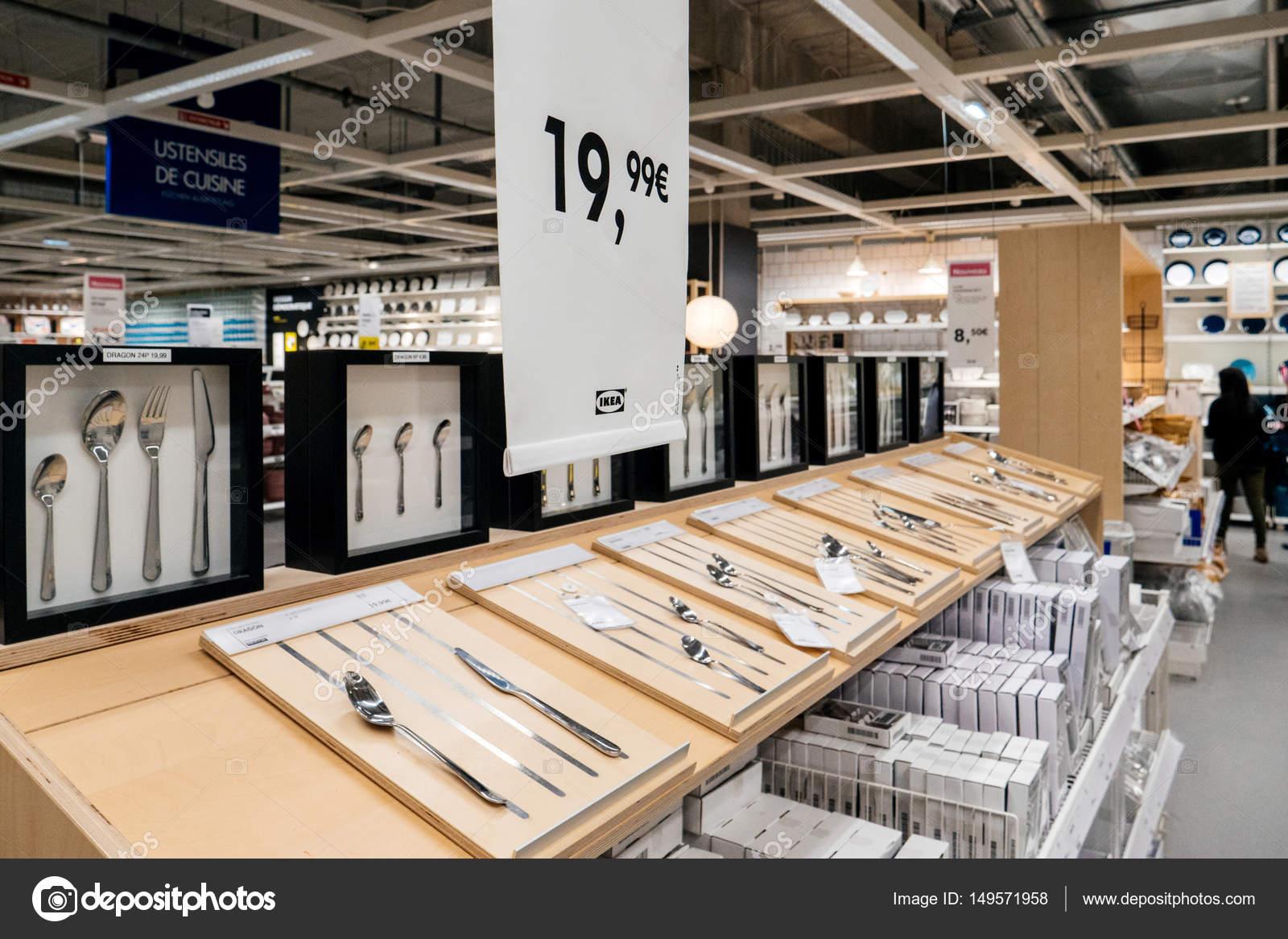 Ikea Menaje Y Cuberter A Compras Precio Foto Editorial De Stock  # Muebles Vestibulo Ikea