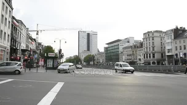 Lehký provoz na ulici Brusel