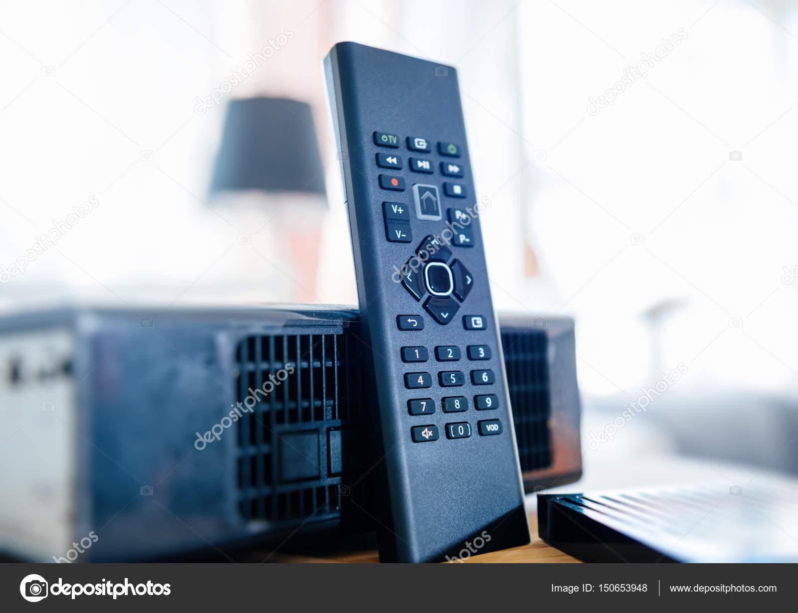 Internet modem tv box — Stock Photo © ifeelstock #150653948