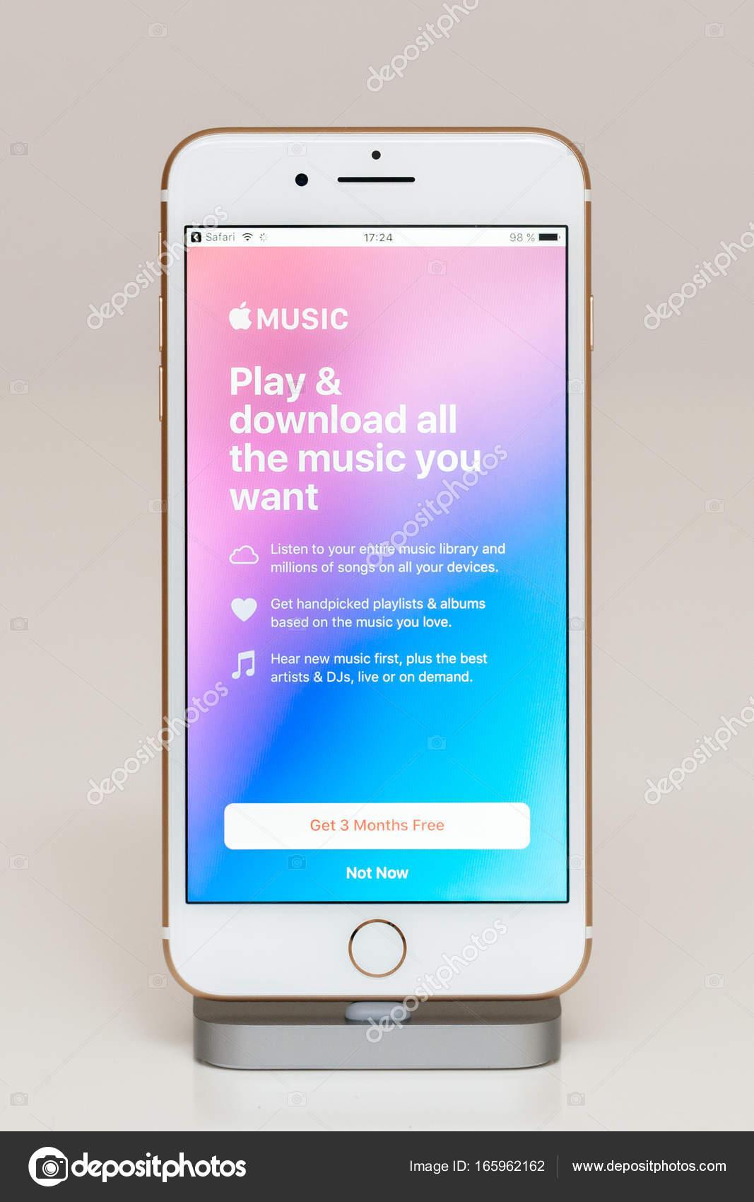 telecharger musique sur iphone 7 plus