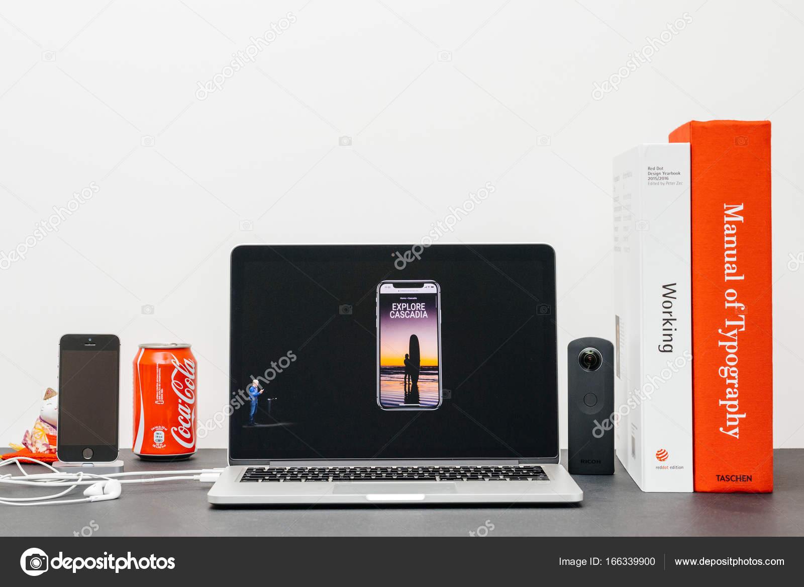Keynote de Apple con la introducción del iphone X 10 explorar ...