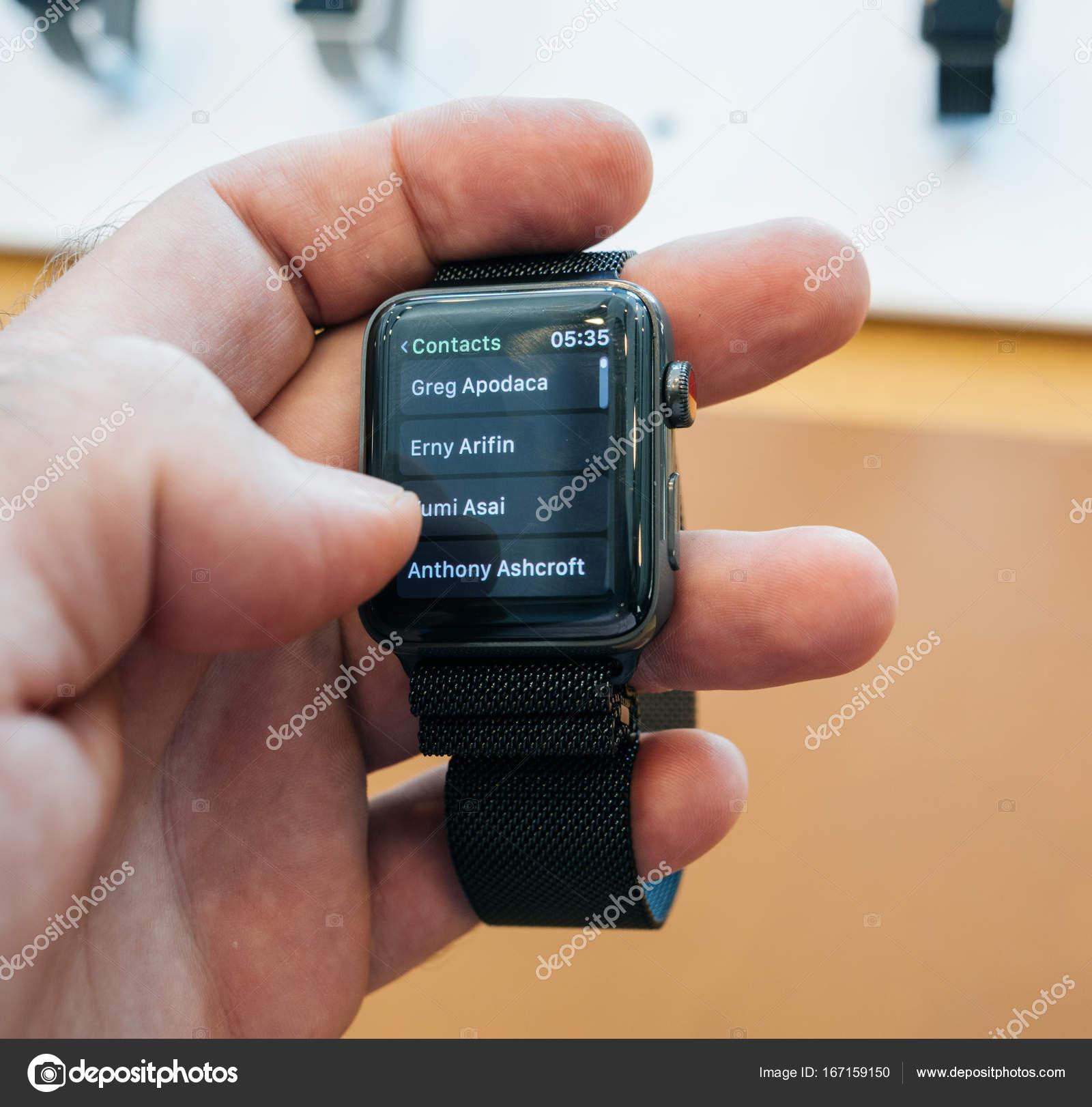 新しい apple watch シリーズ 3 ダイヤル番号電話番号連絡先アプリ