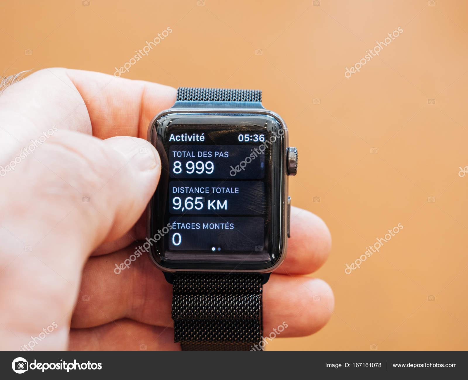 新しい apple watch シリーズ 3 健康アプリ 歩数計の時計アプリ