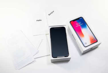 Unboxing unpacking of the latest iphone X 10