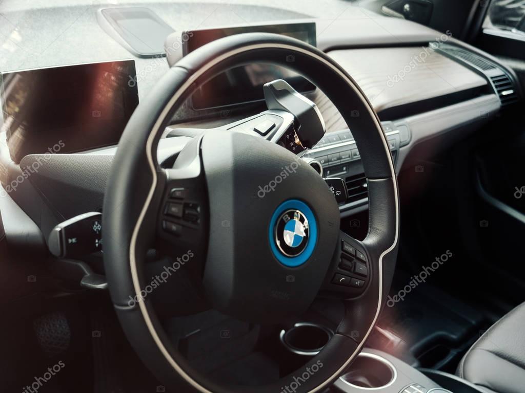 BMW i1 electric car