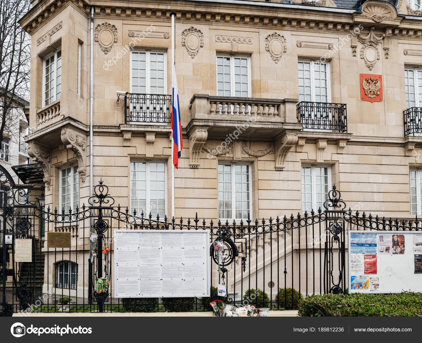 Consulate In France Russian Consulate