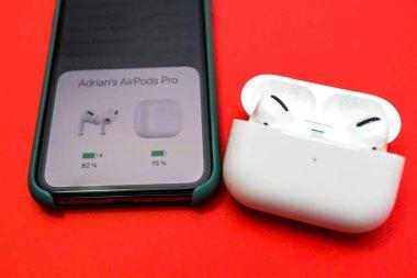 New Apple Computers AirPods Pro headphones