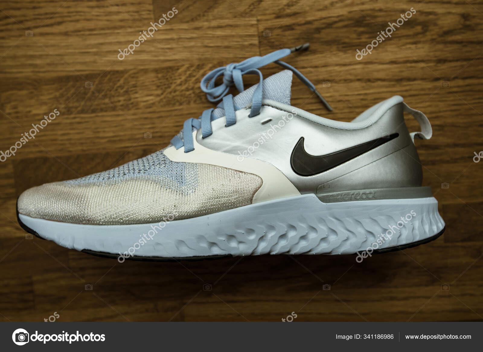 Nike model Odyssey React Flyknit