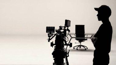 Behind the scenes or making of film.