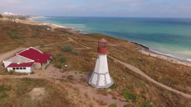 Flying around the lighthouse