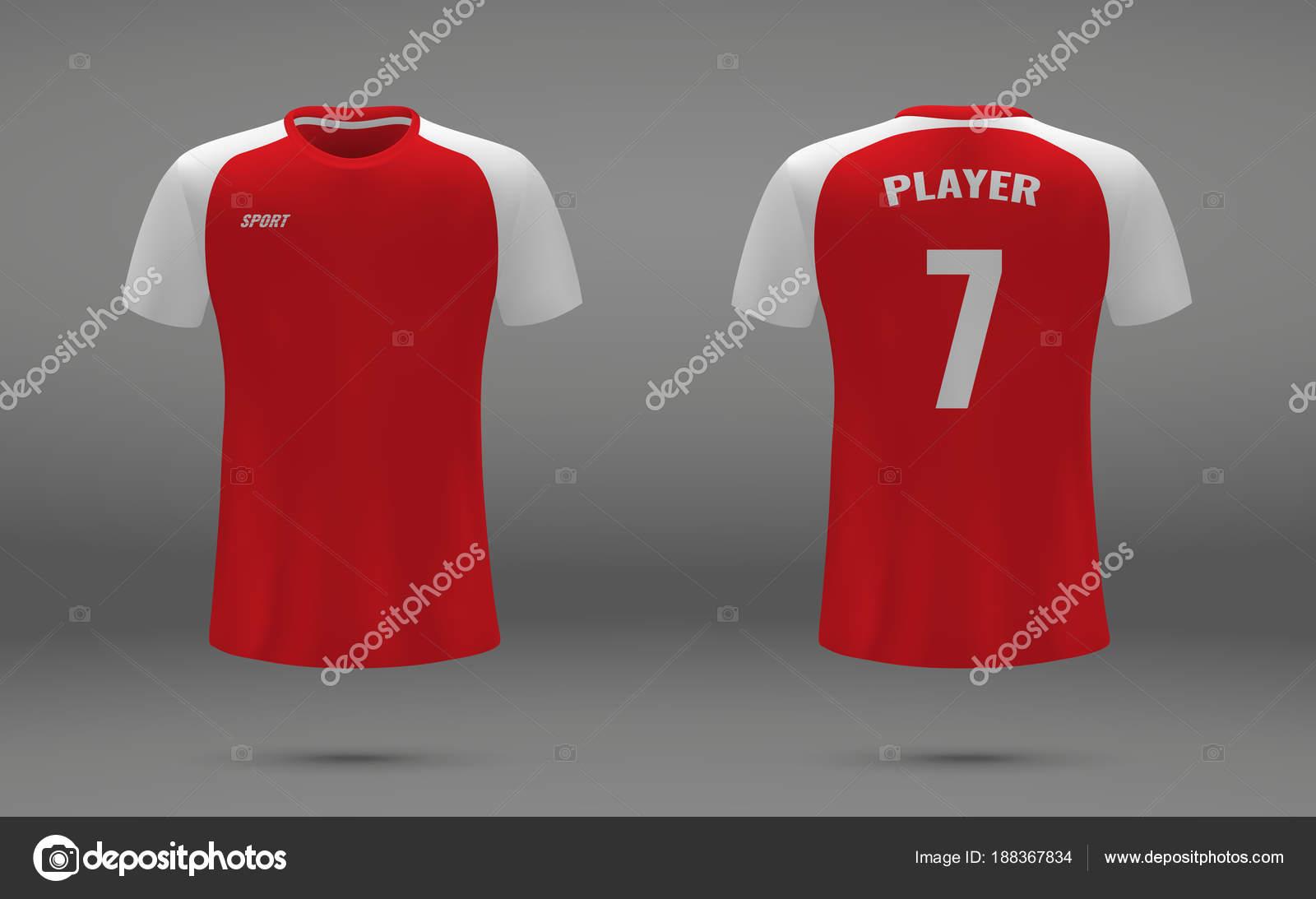 067d61a4b soccer jersey — Stock Vector © grebeshkovmaxim gmail.com  188367834