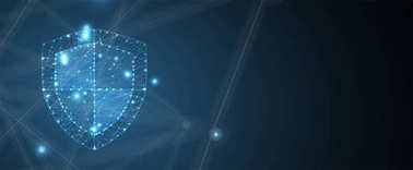 Cyber security and information or network protection. Future technology shield