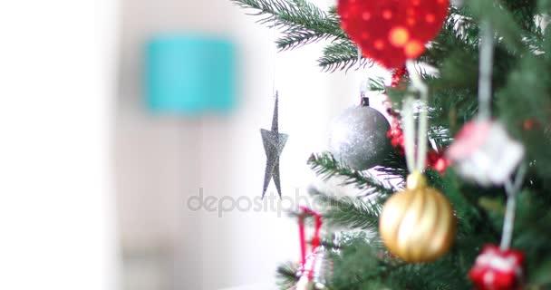 Silver star předení na vánoční stromeček