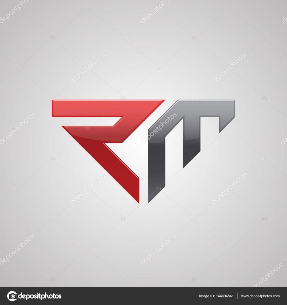 letter rm logo stock vector c oriu007 144694841 https depositphotos com 144694841 stock illustration letter rm logo html