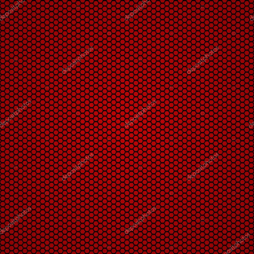Red carbon fiber seamless background — Stock Vector ...