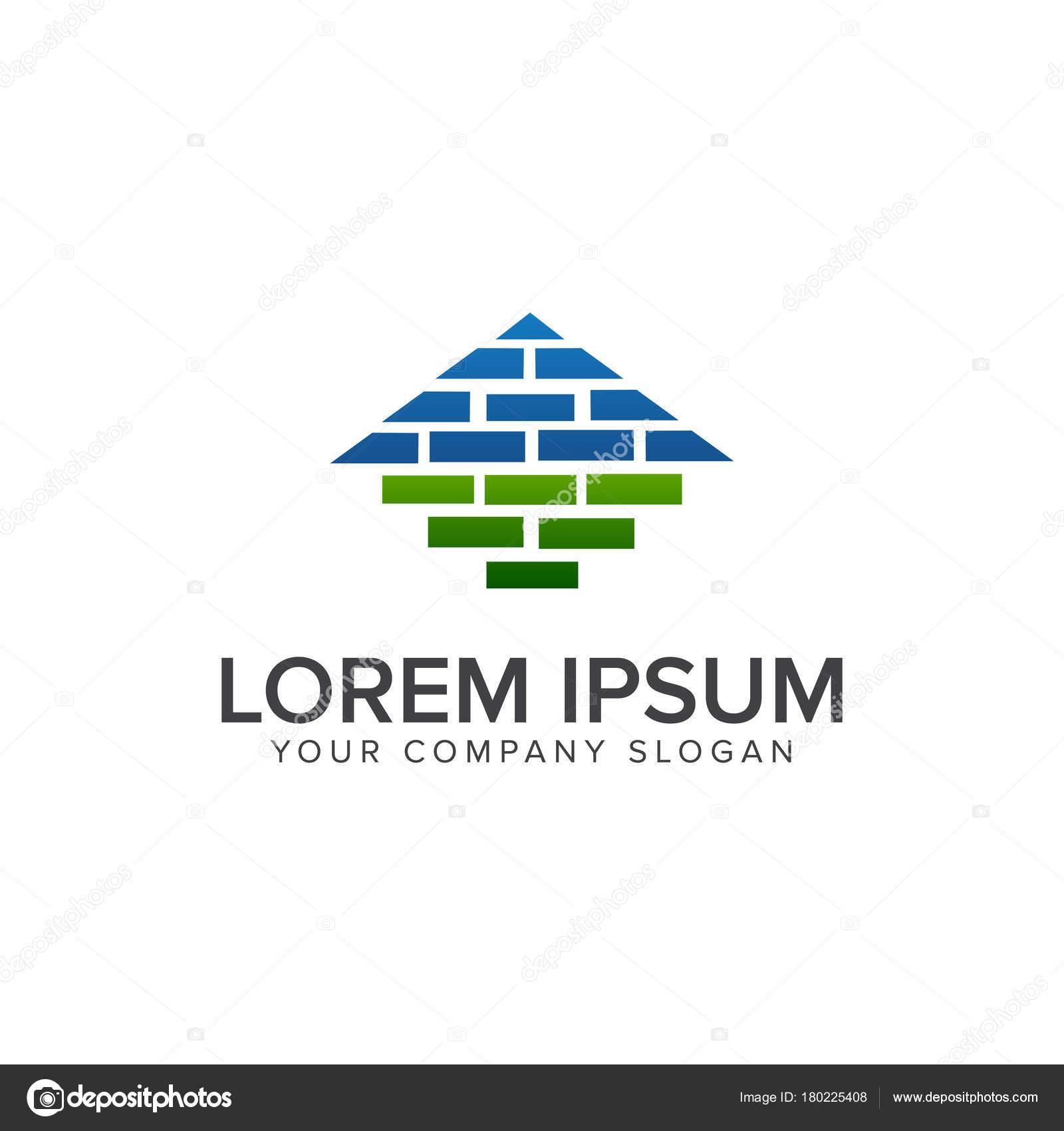 Architektur, Bau-Logo, Logo-Design für Immobilien und Hypotheken ...