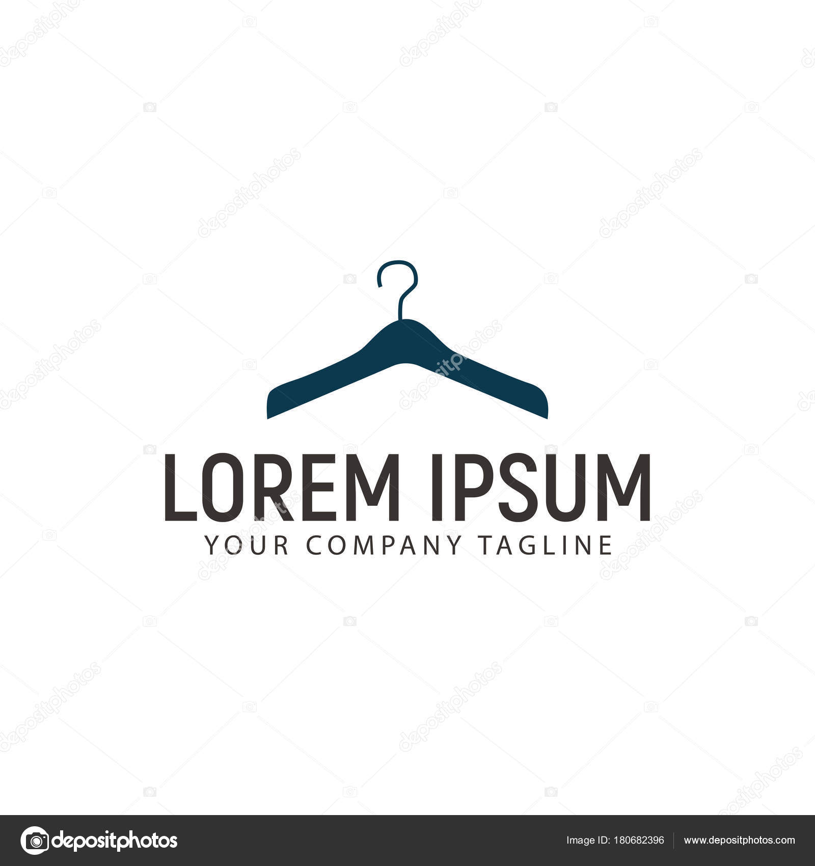 Kleiderbgel kleidung logo design konzept vorlage stockvektor kleiderbgel kleidung logo design konzept vorlage stockvektor thecheapjerseys Images