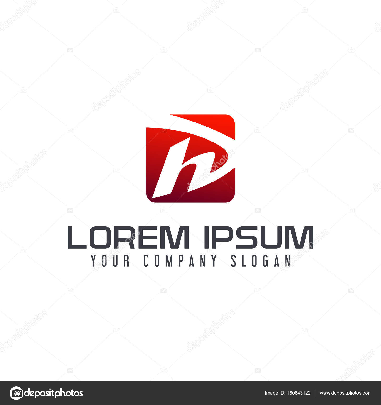 mod le de lettre h logo carr design concept image vectorielle oriu007 180843122. Black Bedroom Furniture Sets. Home Design Ideas