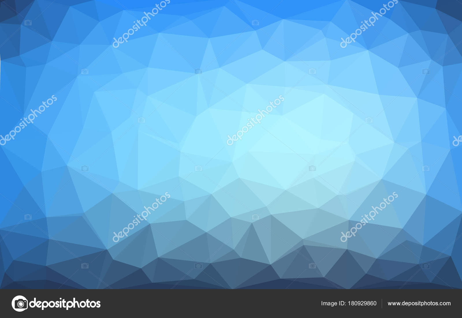 Light blue vector Low poly crystal background. Polygon design pattern. Low  poly illustration background cef99a907