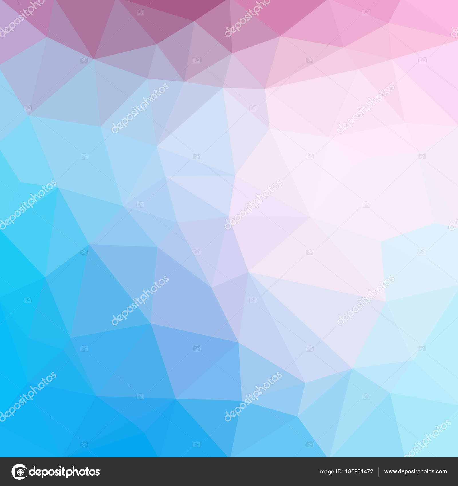 light blue cool vector low poly crystal background polygon design