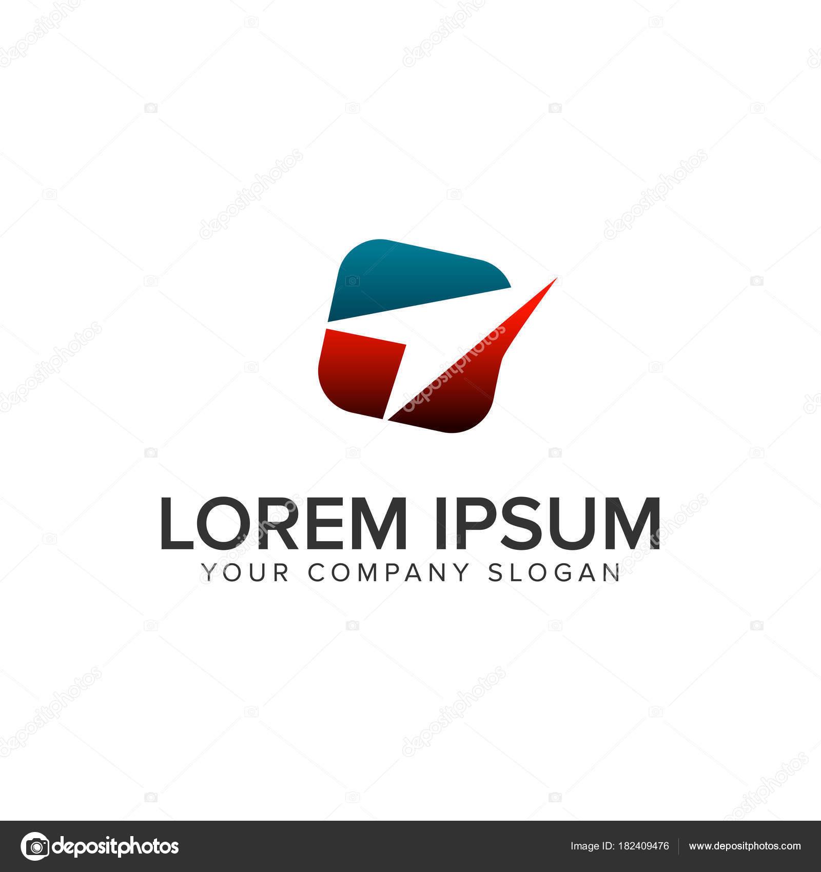Papier-Flugzeug-Logo. Logo-Design-Konzept-Vorlage zu reisen ...